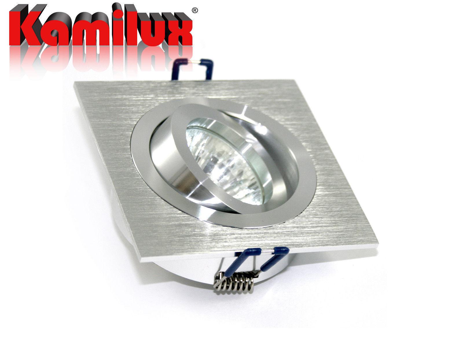 230V Einbauleuchte & dimmbares Leuchtmittel & GU10 Fassung Kanto Edelstahl   | Verpackungsvielfalt  | Sale Online  | Das hochwertigste Material