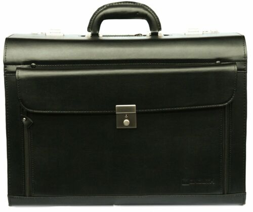 Pilot Case Flight Doctors Executive Quality Briefcase Laptop Work Hand Luggage