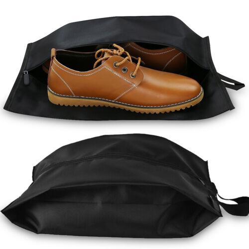 Portable Nylon Travel Shoe Bag with Zipper Closure Dust-proof Waterproof Storage