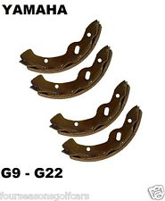 YAMAHA G9 - G22 BRAKE SHOES GAS & ELECTRIC GOLF CART 1994-2006
