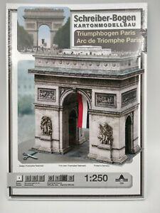 L-039-Arc-de-Triomphe-Paris-maquette-a-monter-en-carton-hauteur-21cm-belle-qualite