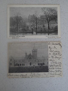 Vintage-Postcard-Set-of-Two-of-Greenock-with-stamps-68-69
