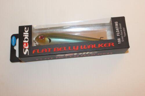 108mm-22 4g Floating-NEW Sebile-Flat Belly Walker