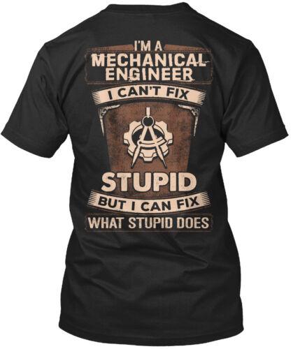 I/'m A I Can/'t Fix Standard Unisex T-shirt Off-the-rack Mechanical Engineer
