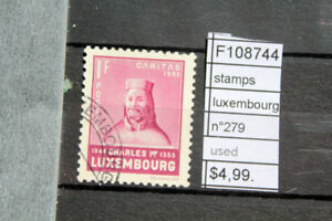 STAMPS-LUXEMBOURG-N-279-USED-F108744
