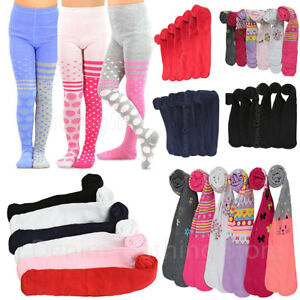 6pcs-Girls-Toddlers-Children-Warm-Winter-Solid-Printed-Assorted-Tights-Lot-XS-XL
