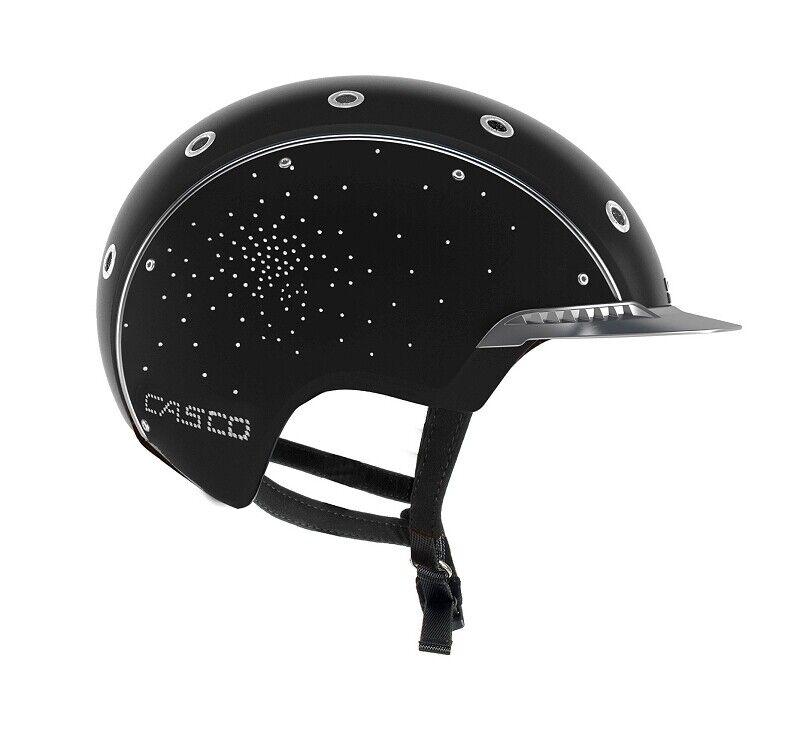 Casco Spirit 3 Crystal reithelm negro casco de seguridad dressurhelm