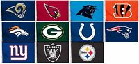 NFL Sports Team Flag/Banner Size 3' x  5' Quality Polyester Flag