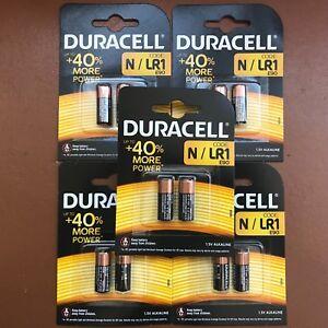 10-X-Duracell-Mn9100-n-E90-1-5V-Batterie-LR1-Alkaline-Batterien-Longest-Expiry