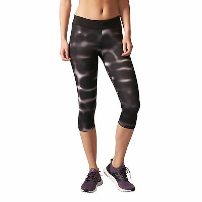 adidas Performance Damen Lauf Fitness Legging Response 3/4 Tight W schwarz  | eBay