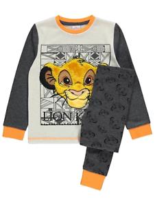 Disney Boys The Lion King Plush Simba Pyjamas BNWT
