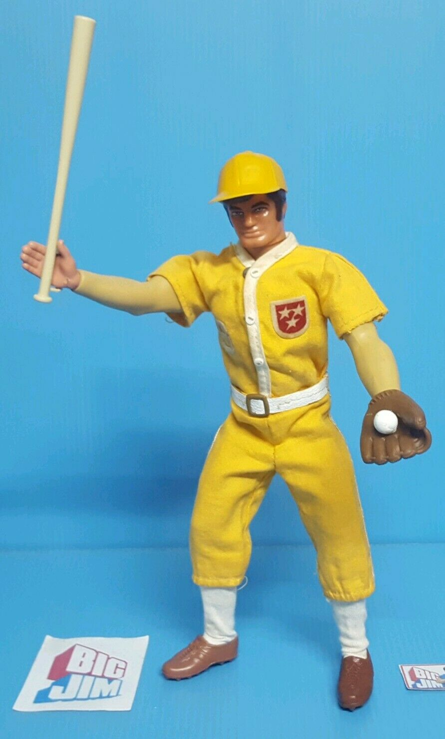 groß Jim,    BASEBALL USA ALL Stern Gelb     Wirkung Joe, mattel