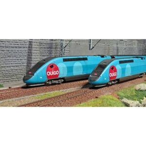 JOUEF-HO-1-87-TGV-Duplex-livrea-034-OUIGO-034-Confezione-4-elementi