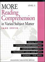 More Reading Comprehension Level 3