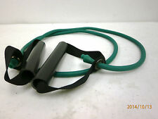 Resist-A-Band Resistance Exercise Tube Tubes Tubing w Handles Pilates Green 48""