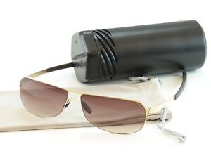 88e639c34 Image is loading IC-Berlin-Sunglasses-Sepp-Gold-Brown-Stainless-Steel-