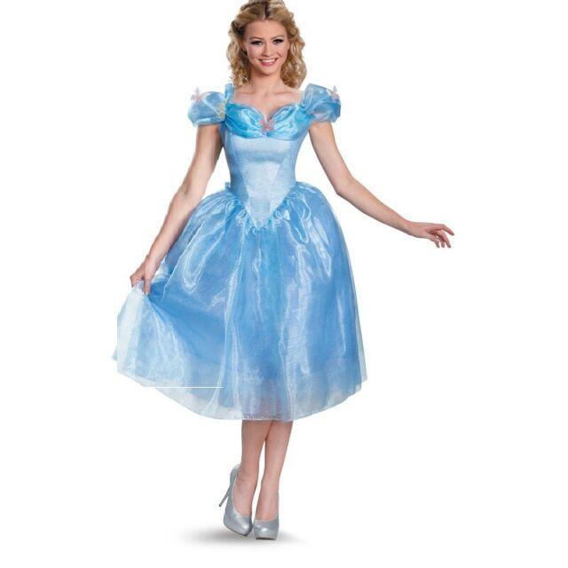 Cinderella - Deluxe Movie - Costume - Adult - 4 Sizes