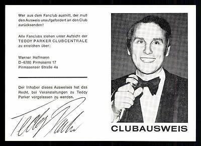 Diplomatisch Teddy Parker Autogrammkarte Original Signiert ## Bc 38470 Sammeln & Seltenes Original, Nicht Zertifiziert