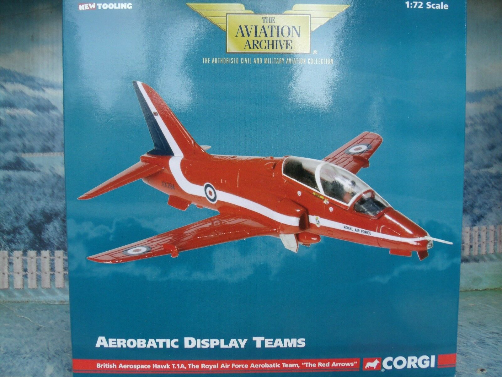 1 72 Corgi Aviation AA36001 British Aerospace Hawl T.1A  Aerobatic team