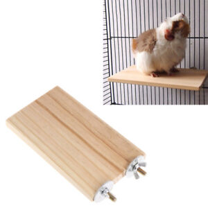Pet-Parrot-Wood-Platform-Stand-Rack-Toy-Hamster-Branch-Perches-For-Bird-Cage