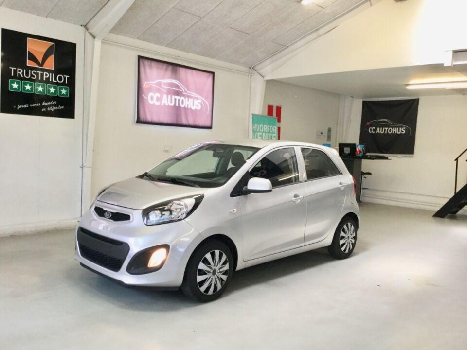 Kia Picanto 1,0 Motion+ Eco Benzin modelår 2012 km 104000