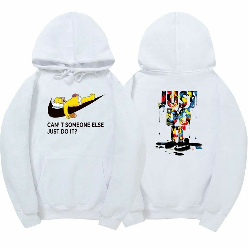New just do it hoodies poleron hombre fashion skateboard Streetwear sweatshirt p