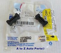 1994-2004 Chevrolet S10,gmc Sonoma Tailgate Rubber Latch Bumpers (2),oem Gm