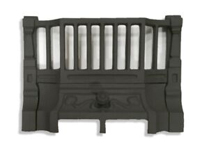 cast iron fireplace front bars