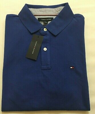 Tommy Hilfiger Men/'s Classic Fit Short Sleeve Polo Authentic New With Tag