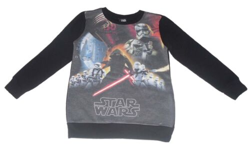 Boys Sweatshirt Jumper Star Wars 5 6 7 8 9 10 11 /& 12 Years