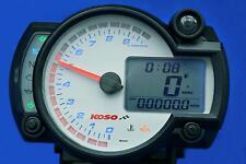 Velocímetro Digital Medidor de rpm Temp Koso Speedo Dash RX2n+ 10K y Sensor de velocidad W