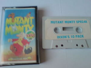 Mutant Monty-artic-zx Spectrum 48k-afficher Le Titre D'origine