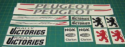 Peugeot Speedfight 2 Rally Siege Aufkleber Grafik Rally 125