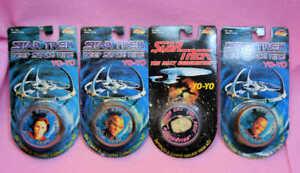 sealed-1993-Star-Trek-DS9-amp-Data-of-TNG-YOYO-lot-yo-yo-Last-chance