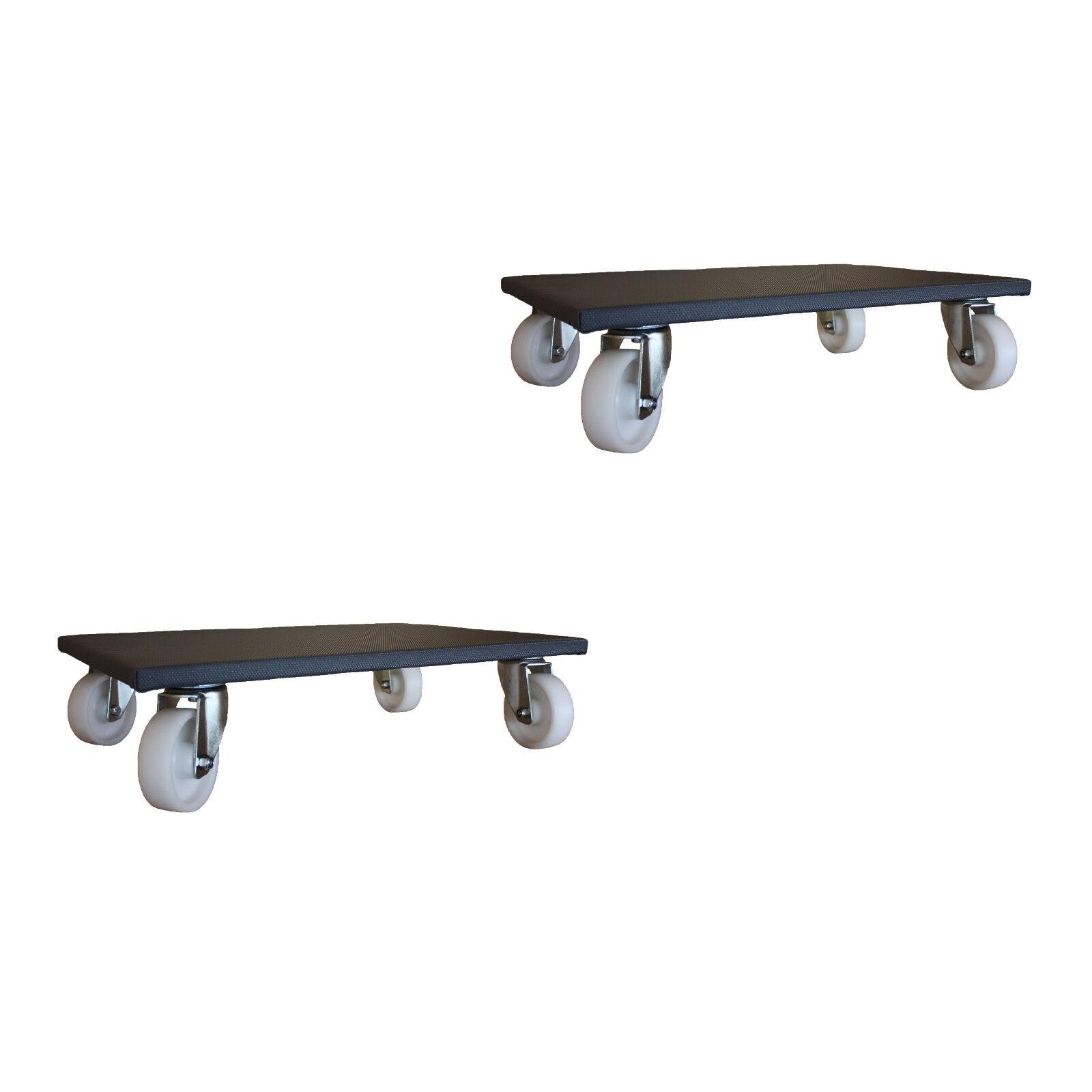2 pièces mobilier Roller 500x600 mm Möbelhund transport Roller Roller transport de 600 kg 10f4bf