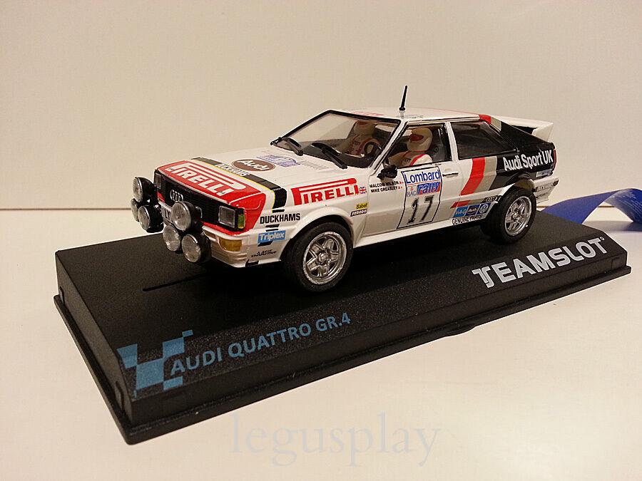 SMasse Scx Scalextric Team SMasse 12205 Audi Quattro GR.4   Rac '82