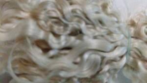 """Reborn 1//2Oz PREMIUM MOHAIR Platinum Blonde  6/"""""""