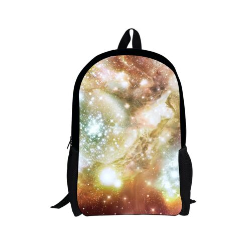 Galaxy Space Bags Backpack School Fashion Shoulder Bag For Boys Womens Rucksack