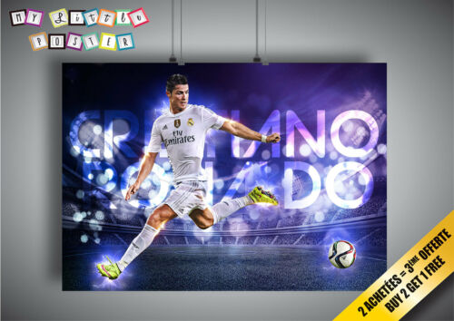 Poster CRISTIANO RONALDO FOOTBALL CR7 Wall Art 02