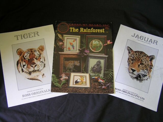 Chartpak OOP Book RAINFOREST AFGHAN by Graphworks Int