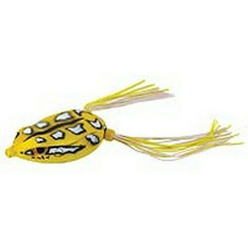 Spro SBEF65RYLW Rainforest Yellow Frog Soft Plastic Fishing Topwater Lure