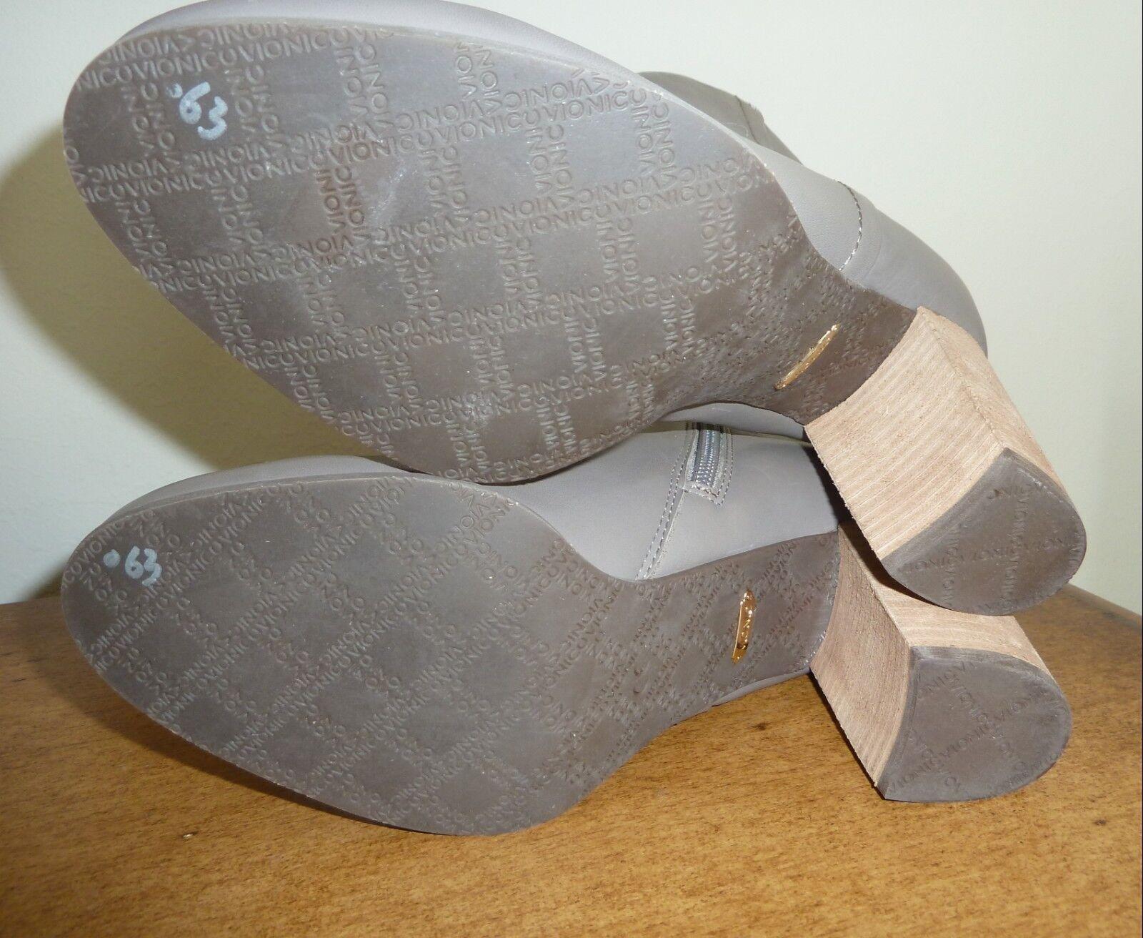 botas al Tobillo de Cuero 179.95 Vionic-Kennedy Oyster 9 o 9.5  179.95 Cuero 720951
