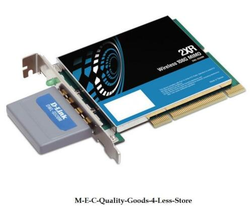 D-Link DWL-G520M Wireless 108G MINO Desktop Adapter !!FREE POSTAGE!! Brand New