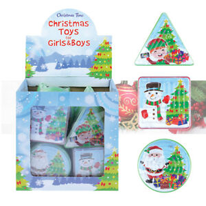 CHRISTMAS-MAZE-PUZZLE-Kids-Birthday-Party-Bag-Favours-Xmas-Toy-Stocking-Fillers