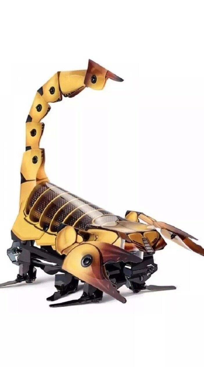 Mattel Kamigami Programmable Robot Kit Scarrax (Braun)