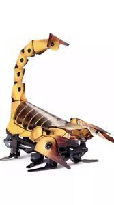 Mattel-Kamigami-Programmable-Robot-Kit-Scarrax-Brown