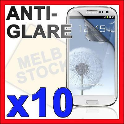 10x Anti Glare Matte Screen Protector Film Guard for Samsung Galaxy S3 i9300