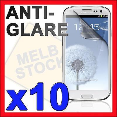 10x Anti Glare Matte Screen Protector Film Guard for Samsung Galaxy S3 i9300