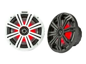KICKER-45KM84L-8-034-MARINE-SPEAKER-WITH-LED-LIGHTING-COMES-AS-A-PAIR