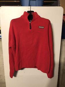 feaecec3bd5 Details about Vintage Mens Polo Sport Ralph Lauren Zip Up Sweater L-XL